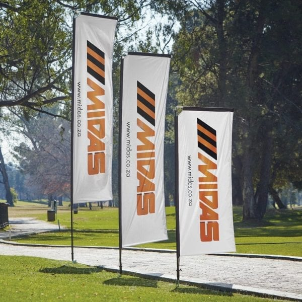 Telescopic Banners Deluxe - Outdoor - Telescopic Banners