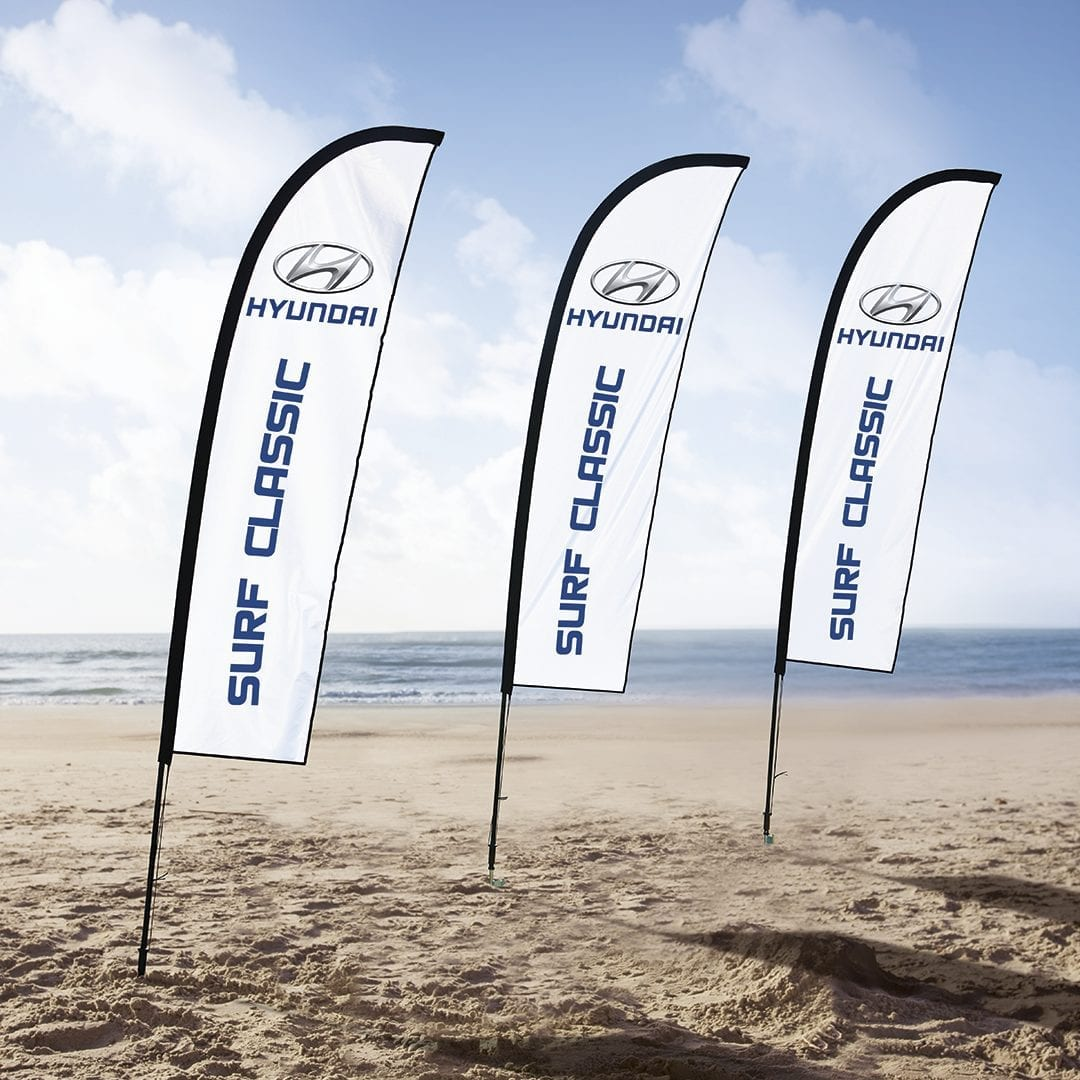 Wind Cheater Banners Deluxe - Outdoor - Wind Cheater Banners