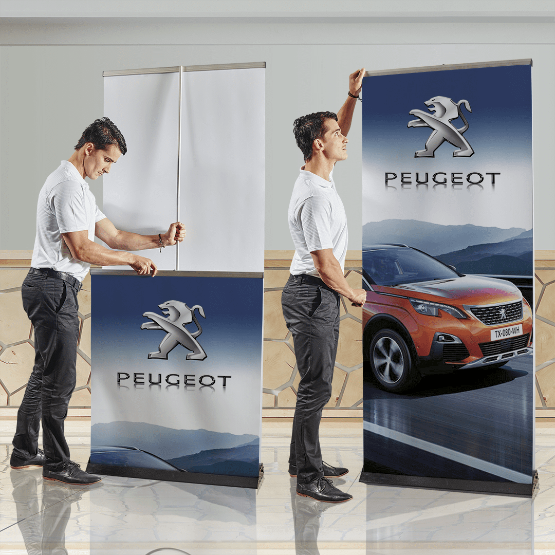 Pull Up Banner Double Sided - Indoor - Banners