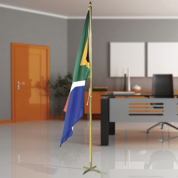 Indoor Flag Pole - 1 Pole Base - Indoor - Flags