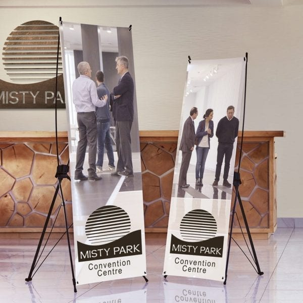 X-Frame Banner with Hooks - Indoor - Banners