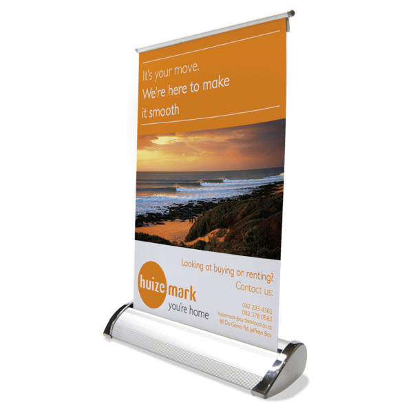 Desk Mini Pull Up Banner - Indoor - Banners