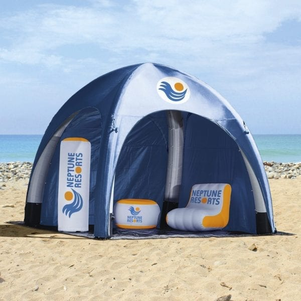 Inflatable Air Tent - Zip Full Door - Inflatables - Accessories