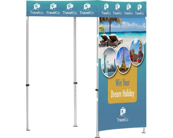 Ovation Gazebo 1.5 X 1.5M 1 Full Wall - PDC/G/WMZ-OHUCJ - Branding & Eventing - iDisplay.co.za