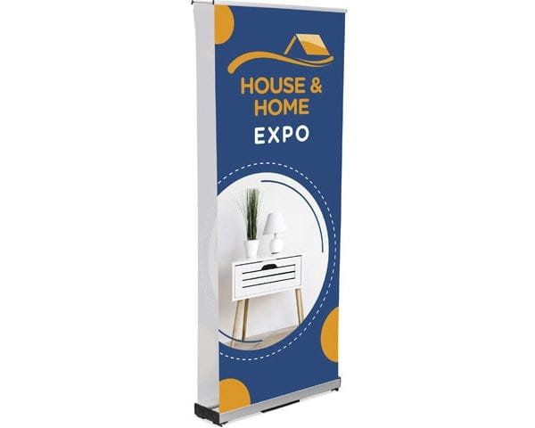 Champion Fabric Pull Up Banner Double Sided Incl Kit - PDC/G/XUZ-212A2 - Branding & Eventing - iDisplay.co.za
