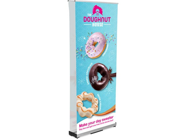 Champion Layflat Pull Up Banner Double Sided Incl Kit - PDC/G/1G8-V5NGP - Branding & Eventing - iDisplay.co.za