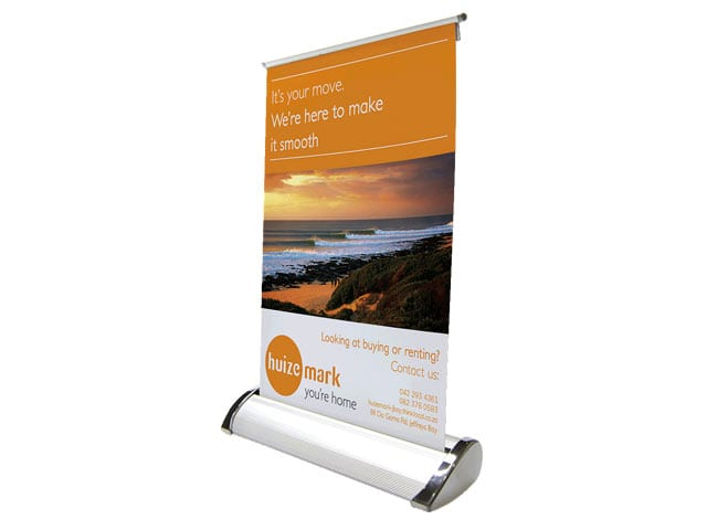 Desk Mini Pull Up Banner - PDC/G/USU-5XXCG - Branding & Eventing - iDisplay.co.za