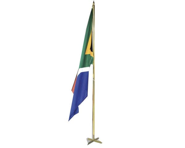 Indoor Flag Pole - 1 Pole Base - PDC/G/NM9-MGUT6 - Branding & Eventing - iDisplay.co.za