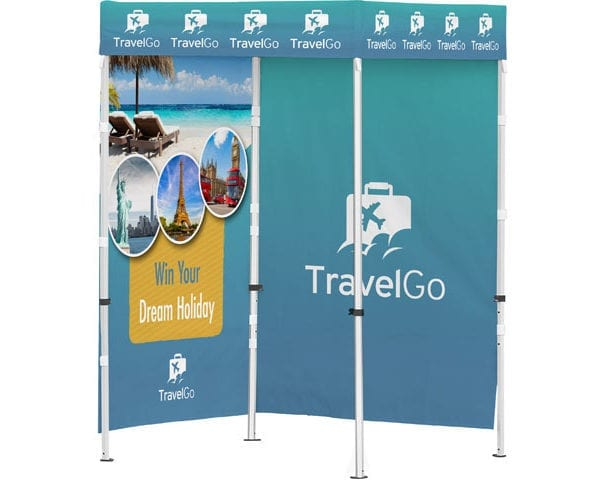 Ovation Gazebo 1.5 X 1.5M 2 Full Walls - PDC/G/R54-3L4SX - Branding & Eventing - iDisplay.co.za