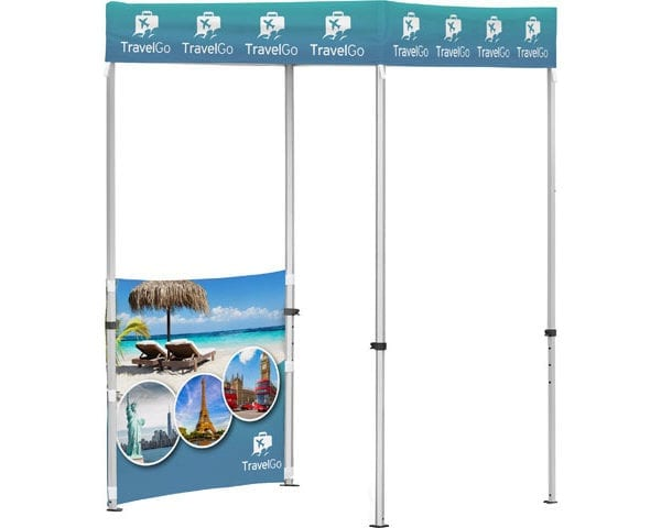 Ovation Gazebo 1.5 X 1.5M 1 Half Wall - PDC/G/EAH-BLNLF - Branding & Eventing - iDisplay.co.za