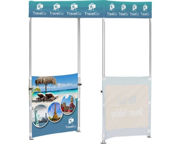 Ovation Gazebo 1.5 X 1.5M 2 Half Walls - PDC/G/4RX-CFRIW - Branding & Eventing - iDisplay.co.za