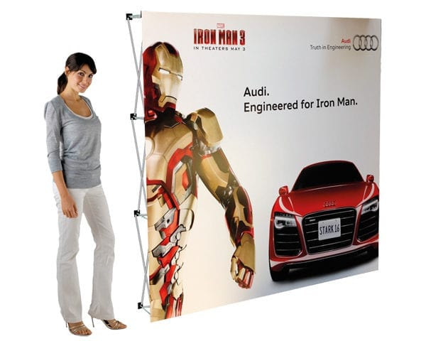 Banner Walls - Standard Single Side - PDC/G/PTV-0YOIG - Branding & Eventing - iDisplay.co.za